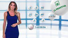 Lotería Nacional + La Primitiva + Bonoloto - 15/08/19