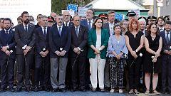 Los líderes políticos recuerdan a las víctimas de los atentados de Barcelona y Cambrils