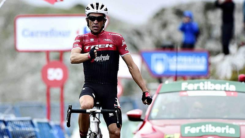 Contador analiza la Vuelta 2019 para TVE