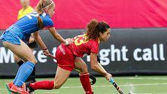España debuta con victoria ante Rusia en categoría femenina