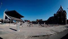 Estadio Vicente Calderón, la lenta demolición de un icono del fútbol