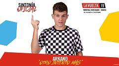 Arkano, autor del primer rap de la Vuelta