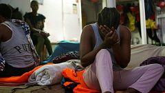 El Open Arms insiste en el desembarco de los 107 migrantes en el puerto de Lampedusa