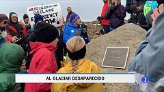 El primer glaciar islandés que ha desaparecido por el cambio climático