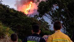 """Los bomberos declaran incontrolable el incendio de Gran Canaria: """"No hay capacidad"""""""