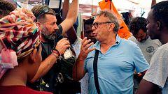 """El alcalde de Lampedusa: """"No tenemos miedo al desembarco del Open Arms, es un problema político"""""""