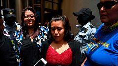 La salvadoreña Evelyn Hernández, absuelta de homicidio agravado por su supuesto aborto