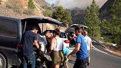 """Nueve mil personas evacuadas en Gran Canaria por un incendio """"incontrolable"""""""