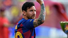 El Barça espera el regreso de Messi