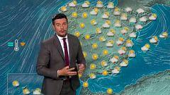 Máximas en descenso y probabilidad de lluvias y tormentas en el nordeste y el este peninsular