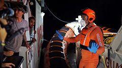 Se reproducen los ataques de pánico y nervios entre los migrantes a bordo del Open Arms