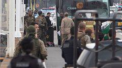 Un francotirador de la Policía brasileña abate al secuestrador de un autobús en Río de Janeiro
