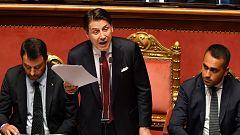Dimite el primer ministro italiano Giuseppe Conte