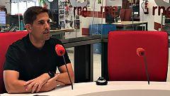 El seleccionador nacional, Robert Moreno, en Radiogaceta (RNE)