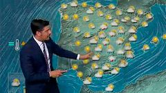 Chubascos y tormentas en el sudeste peninsular y alisios en Canarias