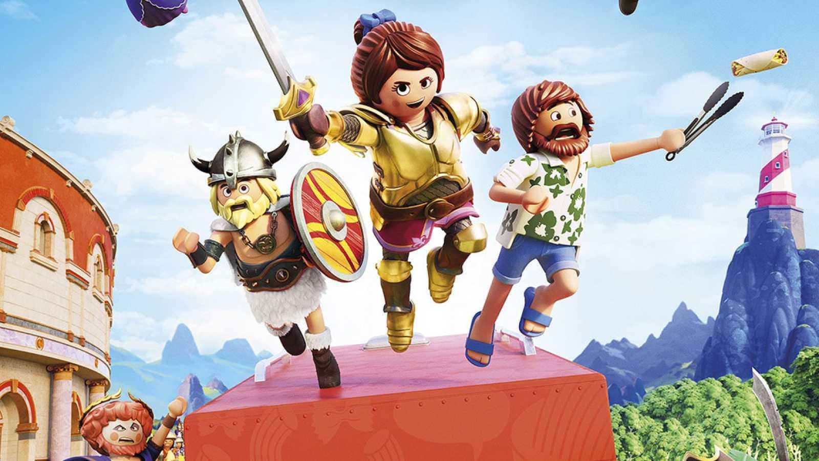 RTVE.es os ofrece un clip en primicia de 'Playmobil: La película'
