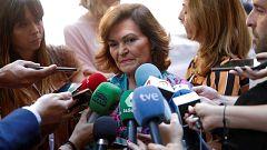 """Calvo califica de """"órdago"""" la propuesta de Podemos y rechaza el gobierno de coalición"""
