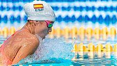 Alba Vázquez bate el récord del mundo junior de 400 estilos