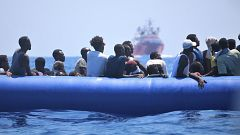 """David Noguera (MSF): """"Jamás me voy a sentar a negociar si hay que rescatar a gente del mar o no"""""""