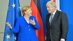 Merkel ofrece 30 días a Johnson para renegociar el pacto para la salida del Reino Unido