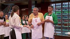 "MasterChef Celebrity 4 - Los Chunguitos descubren la ""velouté"""