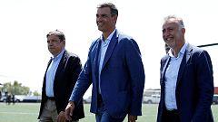 Sánchez garantiza la ayuda del Estado para Gran Canaria