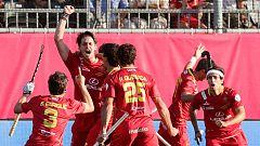 Europeo de hockey hierba: Holanda 0-3 España (gol de Josep Romeu)