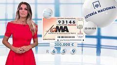 Lotería Nacional + La Primitiva + Bonoloto - 22/08/19