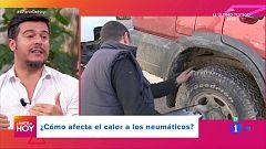A partir de hoy - ¿Influye en calor ambiental en los neumáticos de nuestro coche?