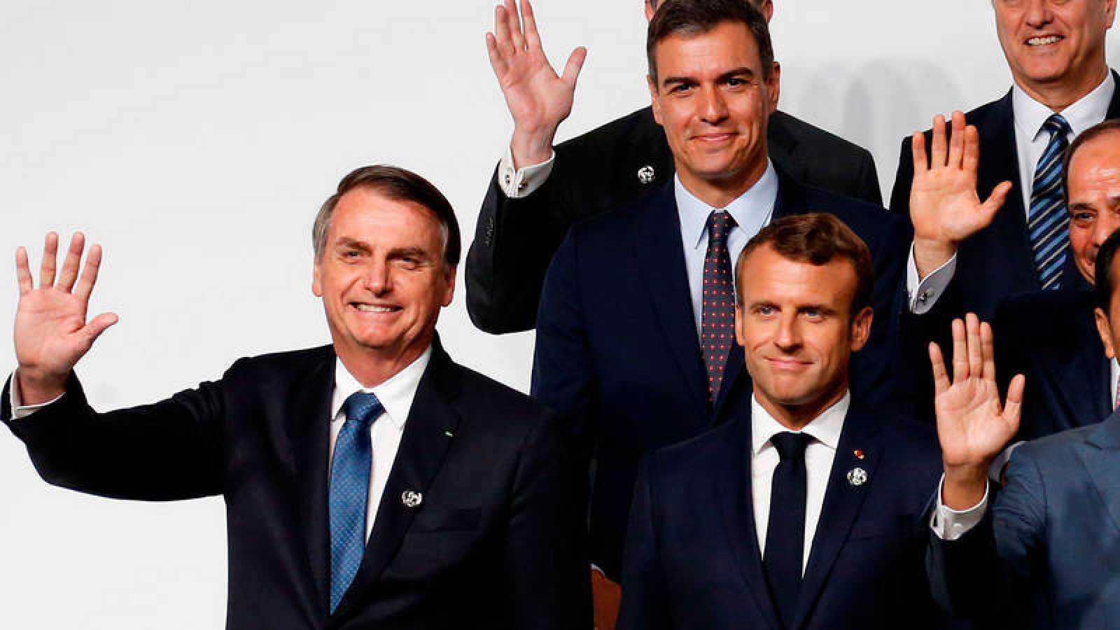 Macron acusa a Bolsonaro de mentir y se opondrá al acuerdo entre la Unión Europea y Mercosur
