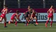 Hockey hierba - Campeonato de Europa Femenino. 1ª Semifinal: Inglaterra - Holanda