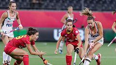 Las 'red sticks' caen ante Alemania en las semifinales del Europeo de Amberes