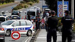 Los controles de seguridad por el G7 colapsan el tráfico en la frontera con Francia