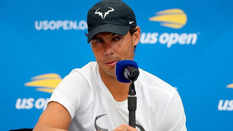 ¿Quién es el mejor de la historia? ¿Federer o Nadal? ¿Quién ganará más Grand Slam? Son preguntas que no parecen pasar por la cabeza de Rafa Nadal, que se ha mostrado muy centrado antes del inicio del US Open, donde buscará una buena actuación.