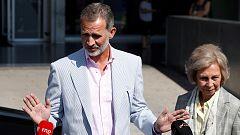 El rey Juan Carlos se recupera en la UCI tras serle implantados tres 'bypass'