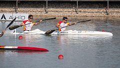 Cubelos y Peña logan la plata en K2 1000 en los Mundiales de piragüismo