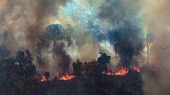 Sigue la lucha para controlar los incendios que devastan la Amazonía desde hace semanas