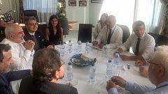 Macron se reúne con el ministro de Exteriores iraní en Biarritz en aras de rebajar la tensión entre Teherán y Washington