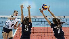 Voleibol - Campeonato de Europa Femenino: España - Bielorrusia