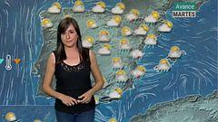 Lluvias y tormentas en la Península hoy lunes por la entrada de aire frío