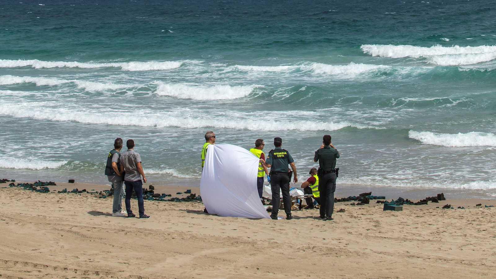 Fallece el piloto de un avión del Ejército del Aire tras caer al Mediterráneo