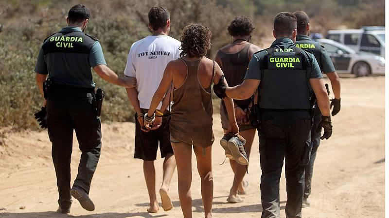 Una fiesta ilegal en Ibiza se salda con 73 detenidos y 13 heridos