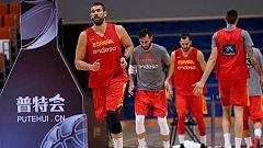 La selección española de baloncesto ya prepara el Mundobasket en China