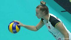 Voleibol - Campeonato de Europa Femenino: España - Suiza