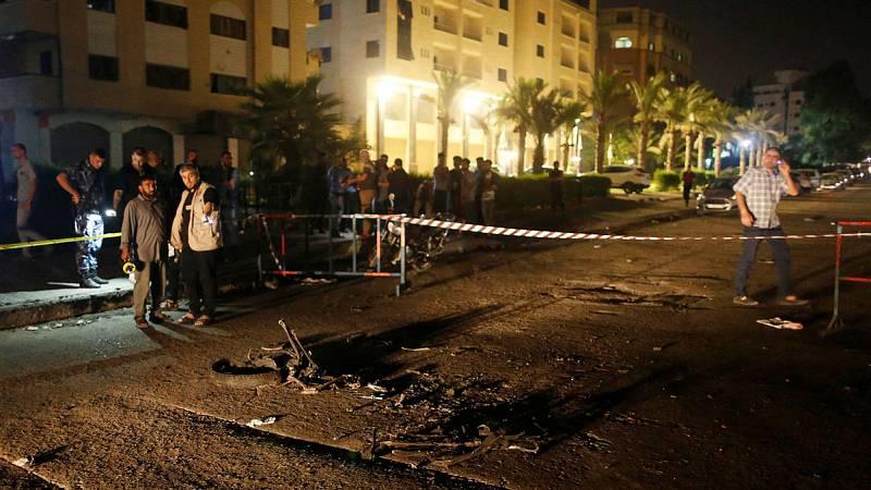 Mueren tres policías en dos ataques contra puestos de control en Gaza