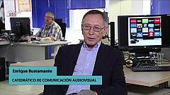 """Enrique Bustamante: """"Canal 10 fue una cosa rara"""""""