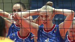 Voleibol - Campeonato de Europa Femenino: Rusia - España