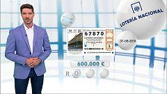Lotería Nacional - 31/08/19