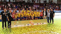 Supercopa (f) de balonmano | Rocasa Gran Canaria se proclama campeón de la Supercopa femenina de balonmano