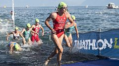 Triatlón - ITU World Series. Carrera élite femenina